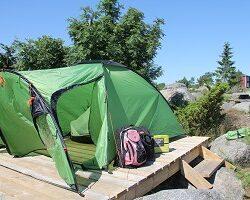 Ouranluodossa voi telttailla